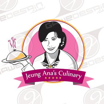 Logo Jeung Ana's Culinary / Desain
