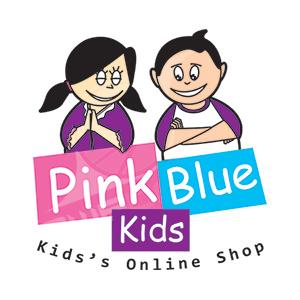 Logo Pink Blue Kids / Desain