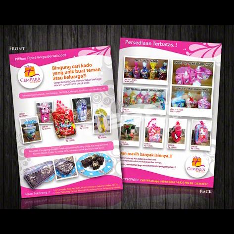 Flyer Cempaka Gift / Desain&Cetak