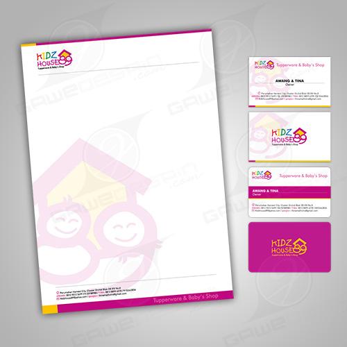 Kop Surat & Kartu Nama Kidz House 89 / Desain