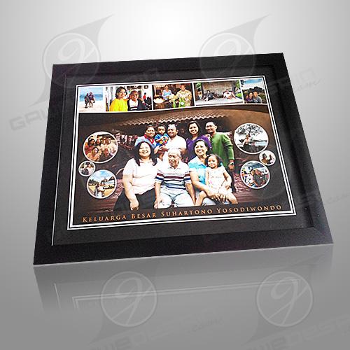 Kolase Foto Keluarga / Desain&Cetak