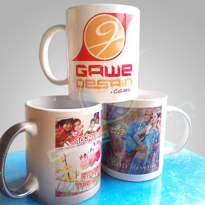 Mug Personal Suvenir / Desain&Cetak