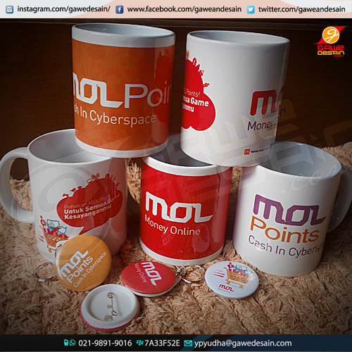 Mug Display MOL / Cetak